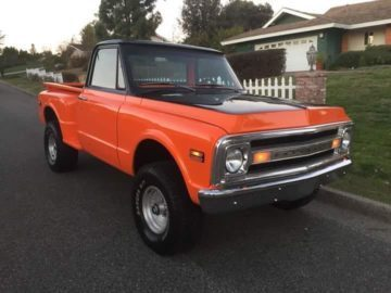 Interstate Cars 1970 Chevrolet K10 pickup