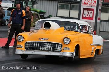 1955 Chevy doorslammer Bel Air Chevrolet Drag Racing
